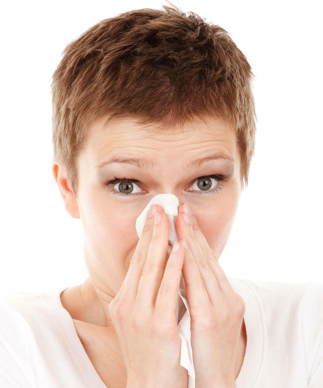 katar alergiczny i łzawienie