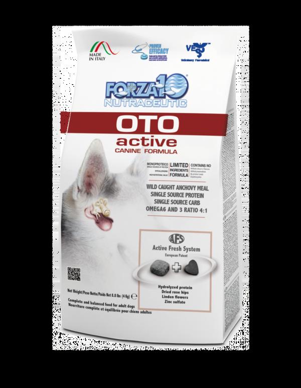 Forza10 Oto Active na choroby uszu u psa