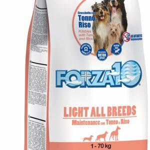 Forza10 Maintenance LIGHT z tuńczykiem 15kg – sucha karma dla psa