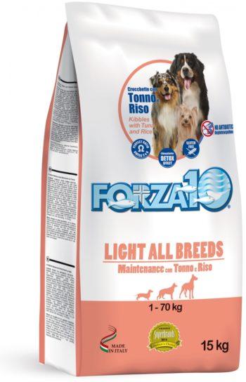 Forza10 Maintenance LIGHT z tuńczykiem 15kg - sucha karma dla psa