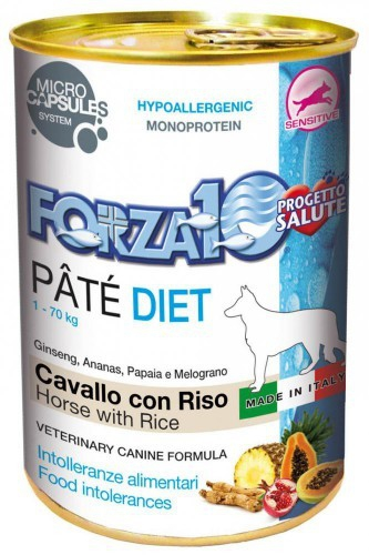 Forza10 Diet konina z ryżem dla psa 400g