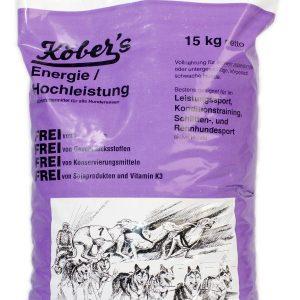 Koebers Energie Hochleistung 15 kg – sucha karma dla aktywnych psów