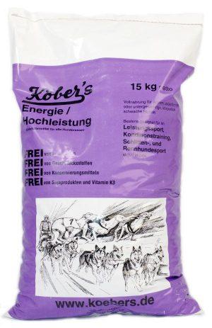 Koebers Energie Hochleistung 15 kg - sucha karma dla aktywnych psów