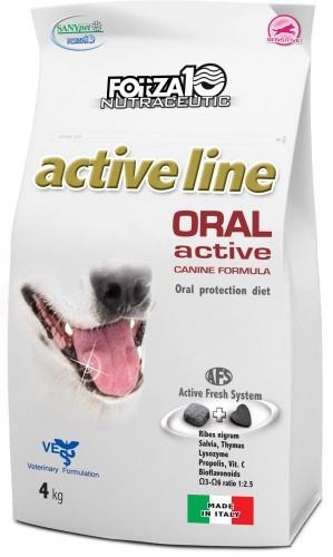 Forza10 Oral Active 4kg Uszy - sucha karma dla psów