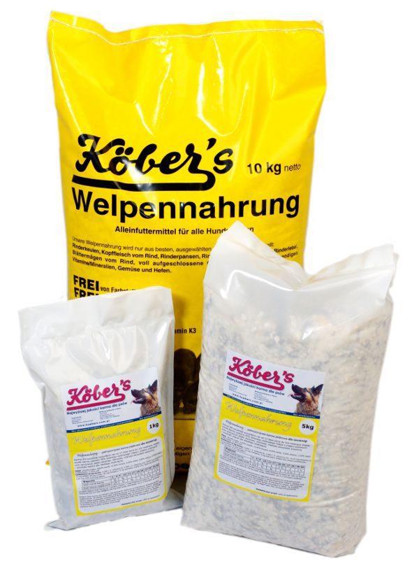 Koebers Welpennahrung 5 kg - karma dla szczeniąt Puppy