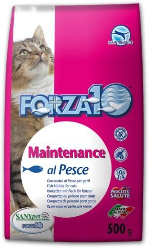 Forza10 Maintenance z rybą 2kg - sucha karma dla kota