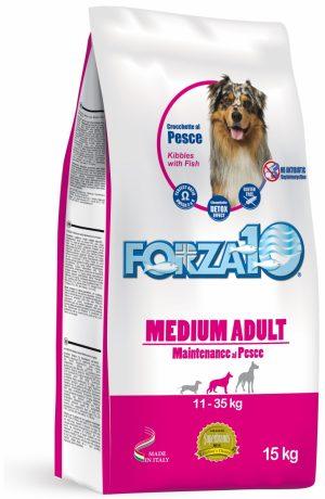 Forza10 Medium Maintenance z rybą 15kg - sucha karma dla psa