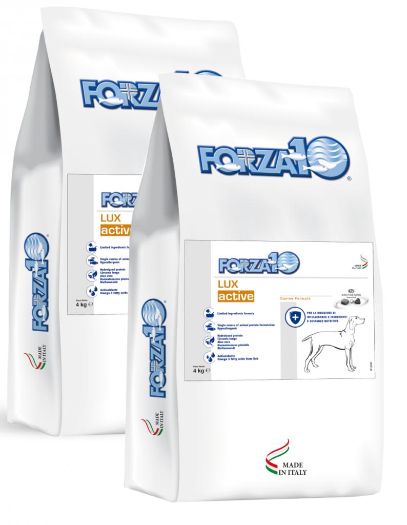 Forza10 Lux Active (Ophtalmic) - ochrona oczu 2 x 4kg - sucha karma dla psa