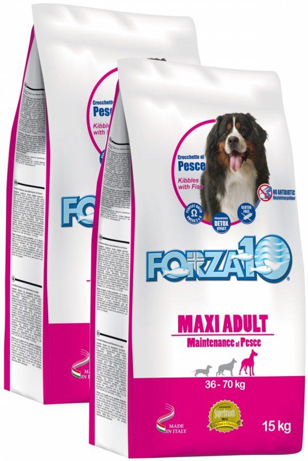 Forza10 Maxi Maintenance z rybą 30kg (2 x 15kg) - sucha karma dla psa