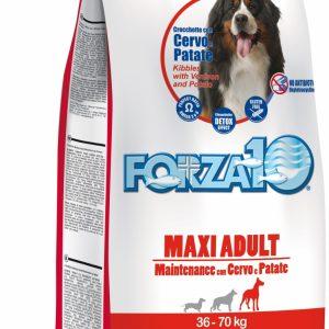 Forza10 Maxi Maintenance z jeleniem i ziemniakami 15kg – sucha karma dla psa