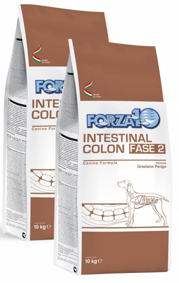 Forza10 Intestinal Colon Fase 2 2 x 10kg - sucha karma dla psa