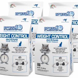 Forza10 Weight Control Active 4 x 454g – sucha karma dla kota