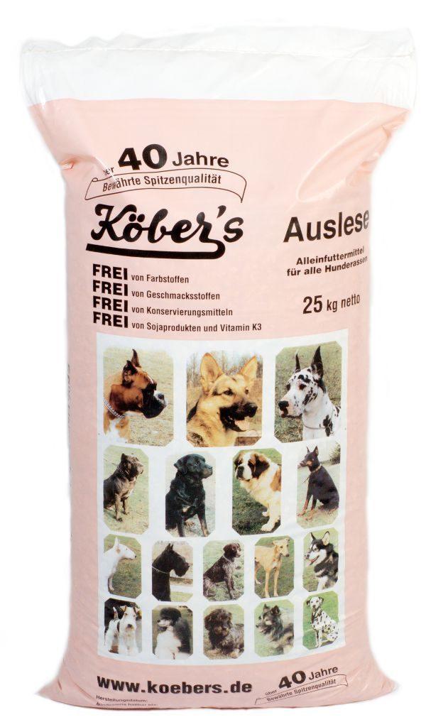 Koebers Auslese 25 kg - karma dla wszystkich psów