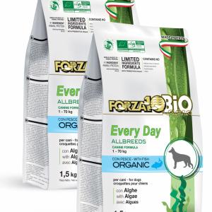 Forza10 Mini/Medium Every day BiO ryba i algi 2 x 1,5kg – sucha karma dla psa