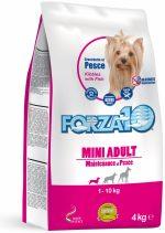 Forza10 Mini Maintenance z rybą 4kg - sucha karma dla psa