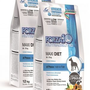 Forza10 Maxi Diet fish 24kg – 2 x 12kg – sucha karma dla psa