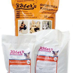 Koebers Supermix krokiety 5 kg – wspaniała sucha karma dla psów najwyższej jakości