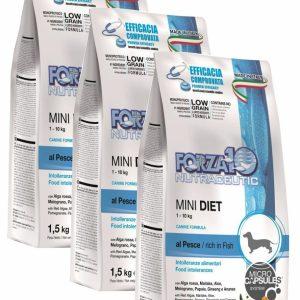 Forza10 Mini Diet Fish 4,5kg – 3 x 1,5kg – sucha karma dla psa