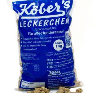 Koebers Leckerchen mit Rind 1 kg - niskokaloryczna nagroda