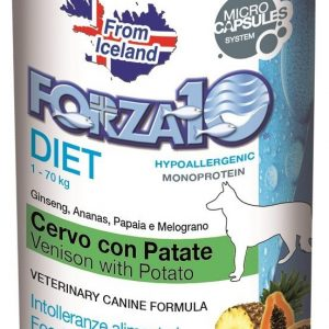 Forza10 Diet jeleń z ziemniakami dla psa 400g