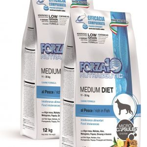 Forza10 Medium Diet Fish 24kg – 2 x 12kg – sucha karma dla psa
