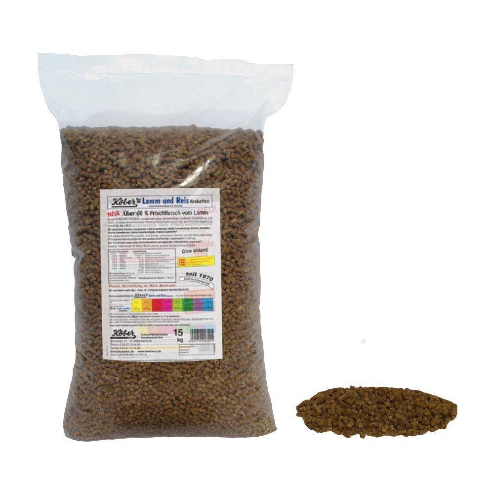 Koebers Lamm und Reis Kroketten 30 kg - baranina z ryżem - sucha karma dla psa