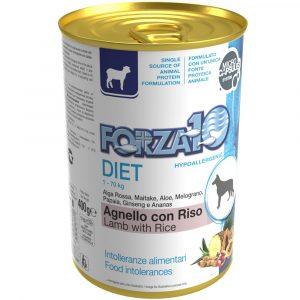 Forza10 Diet jagnięcina z ryżem dla psa 400g