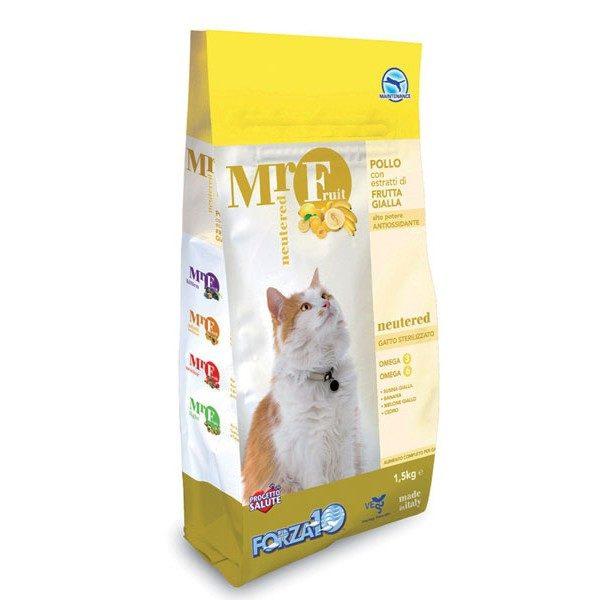 Forza10 MrFruit Neutered 1,5kg - sucha karma dla kota