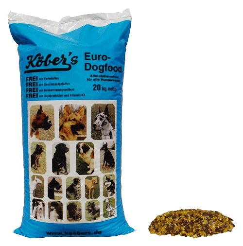Koebers Euro Dog Food 20 kg - karma dla wszystkich psów