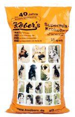 Koebers Supermix krokiety 15 kg - wspaniała sucha karma dla psów najwyższej jakości