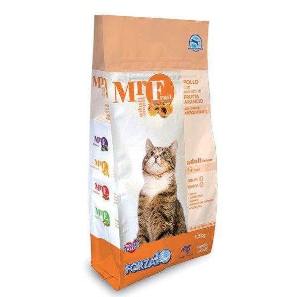 Forza10 MrFruit Indoor 1,5kg - sucha karma dla kota