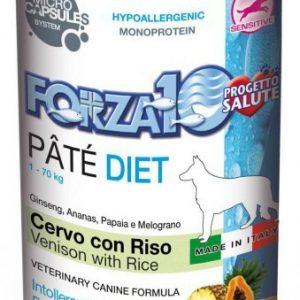 Forza10 Diet jeleń z ryżem dla psa 400g