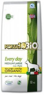 Forza10 Medium/Maxi Every day BiO kurczak i algi 12kg - sucha karma dla psa