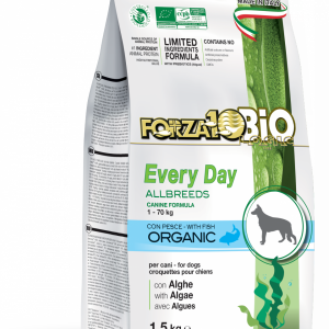 Forza10 Mini/Medium Every day BiO ryba i algi 1,5kg - sucha karma dla psa