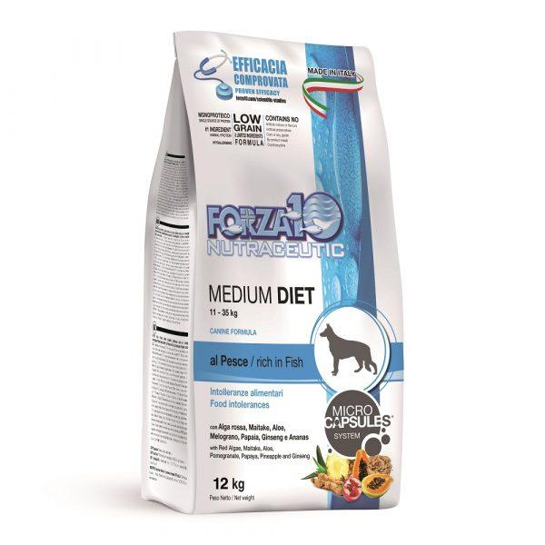Forza10 Medium Diet Fish 12kg - sucha karma dla psa