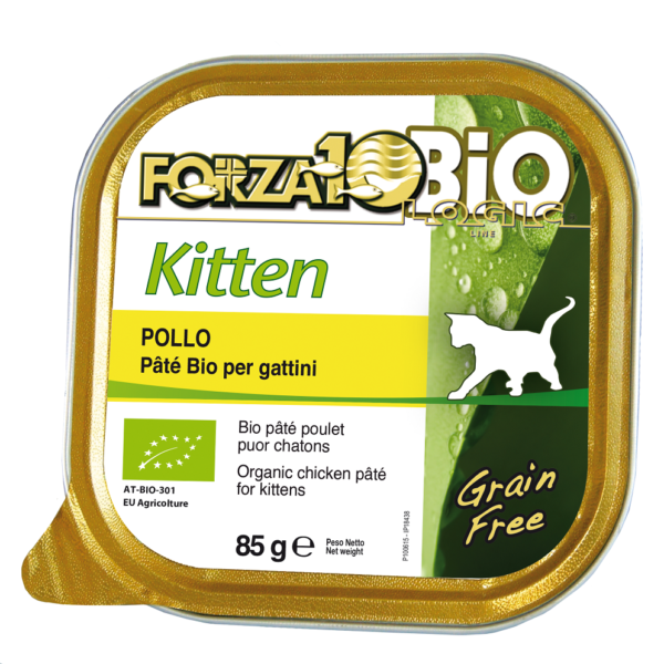 Forza10 Every Day Bio Kitten 85 g - dla kota