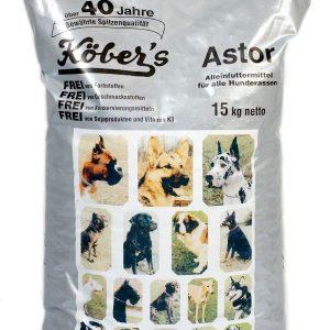 Koebers Astor 15 kg – bytowa sucha karma dla wszystkich psów