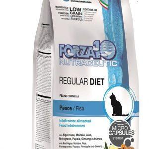 Forza10  Regular Diet z rybą 0,4kg – sucha karma dla kota