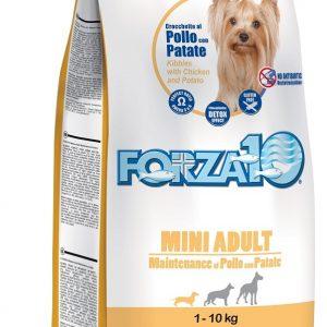 Forza10 Mini maintenance z kurczakiem i ziemniakami 2kg - sucha karma dla psów