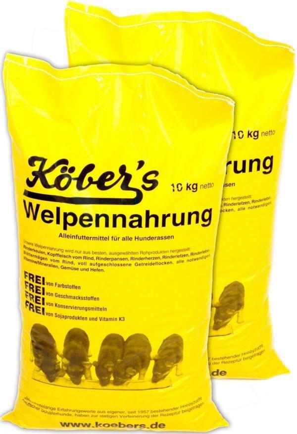 Koebers Welpennahrung 20 kg - karma dla szczeniąt Puppy (2 x 10 kg)