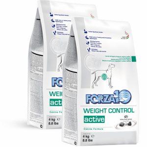 Forza10 Weight Control Active 2 x 4 kg Nadwaga - sucha karma dla psa