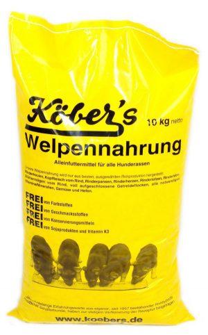 Koebers Welpennahrung 10 kg - karma dla szczeniąt Puppy