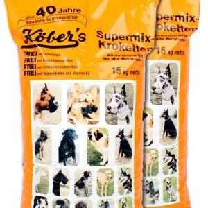 Koebers Supermix krokiety 30 kg (2 x 15kg) – wspaniała sucha karma dla psów najwyższej jakości