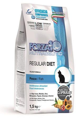 Forza10  Regular Diet z rybą 1,5kg - sucha karma dla kota