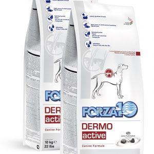Forza10 Dermo Active 20kg (2x10kg) Skóra Sierść sucha karma dla psa