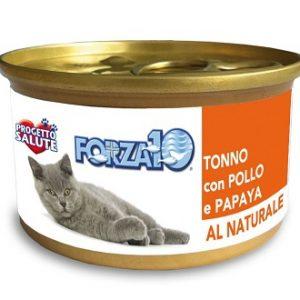 Forza10 Maintenance tuńczyk z kurczakiem i papają 75g