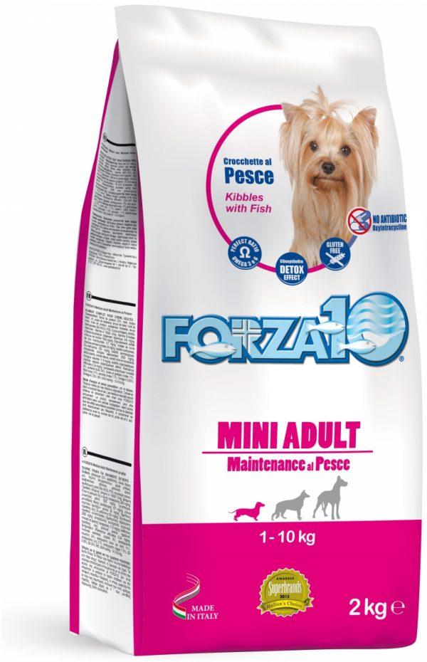 Forza10 Mini Maintenance z rybą 2kg - sucha karma dla psa