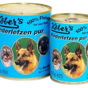 Koebers Rinderlefzen pur 800g - mokra karma 100% mięsa