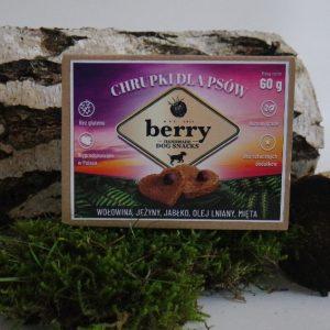 Smakołyki Berry Snacks z wołowiną 60g