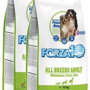 Forza10 All Breeds Maintenance z rybą i ryżem 30kg (2x15kg) – sucha karma dla psa